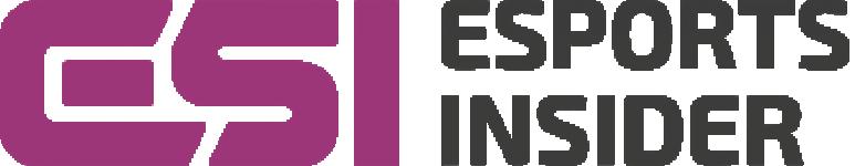 Esports insider logo horizontal white